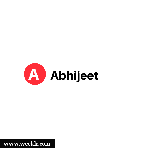 Logo and DP photo of Abhijeet Name