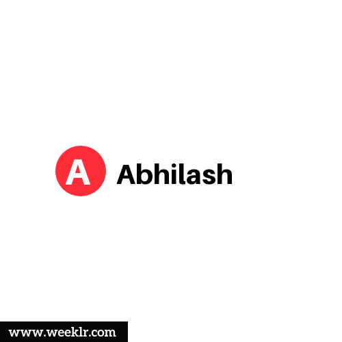 Logo and DP photo of Abhilash Name
