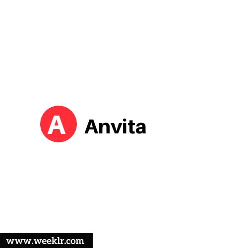 Logo and DP photo of Anvita Name