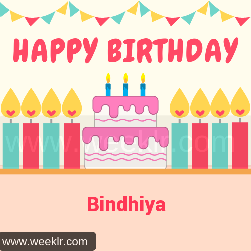Candle Cake Happy Birthday  Bindhiya Image