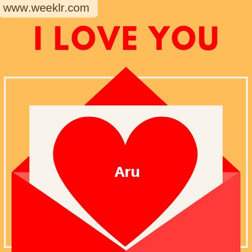 Aru I Love You Love Letter photo