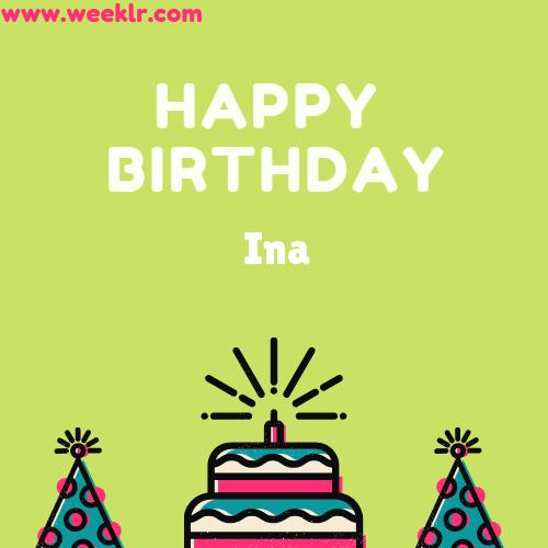 Ina Happy Birthday To You Photo