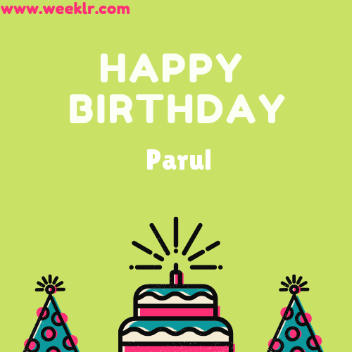Parul Happy Birthday To You Photo