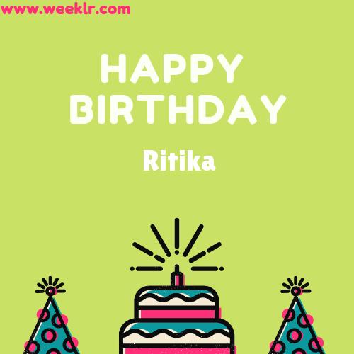 Ritika Happy Birthday To You Photo