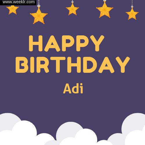 Adi Happy Birthday To You Images