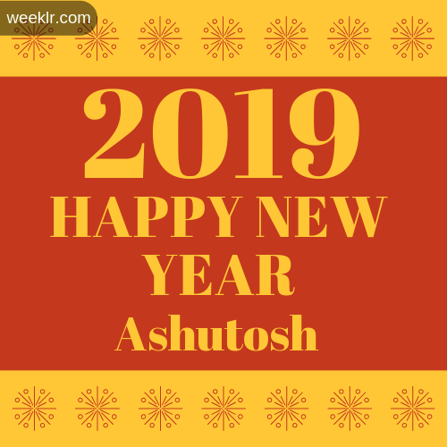 -Ashutosh- 2019 Happy New Year image photo