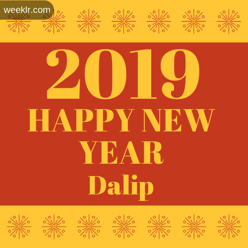 -Dalip- 2019 Happy New Year image photo