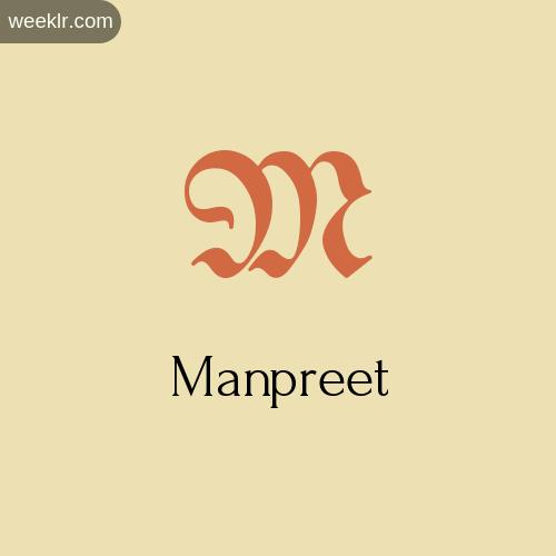 Download Free -Manpreet- Logo Image