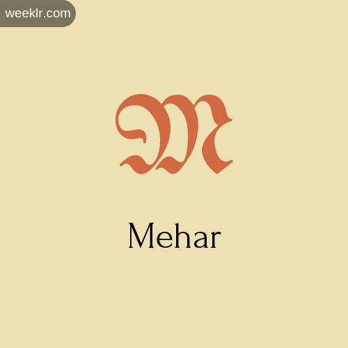 Download Free -Mehar- Logo Image