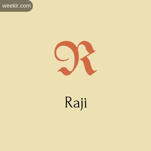 Raji : Name images and photos - wallpaper, Whatsapp DP