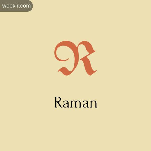Download Free -Raman- Logo Image