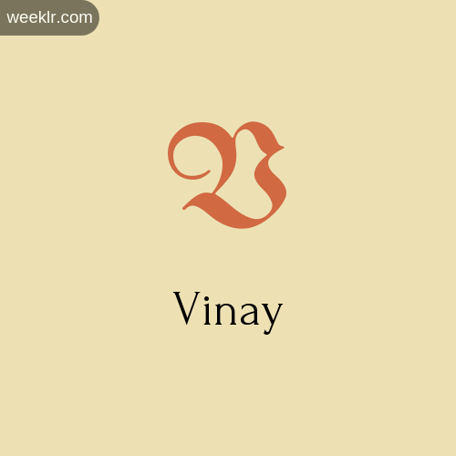 Download Free -Vinay- Logo Image