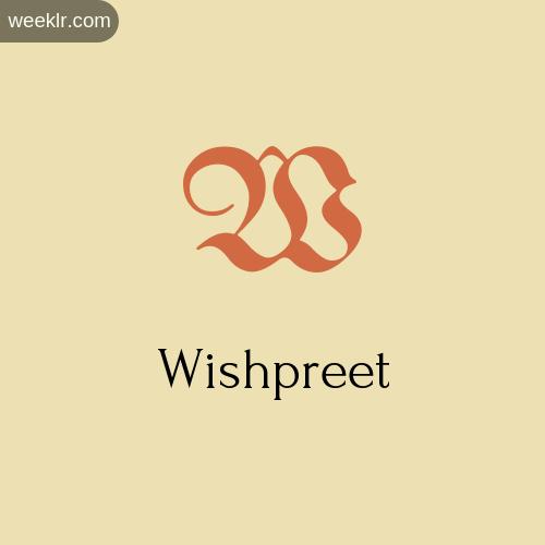 Download Free -Wishpreet- Logo Image