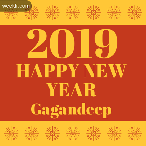 -Gagandeep- 2019 Happy New Year image photo