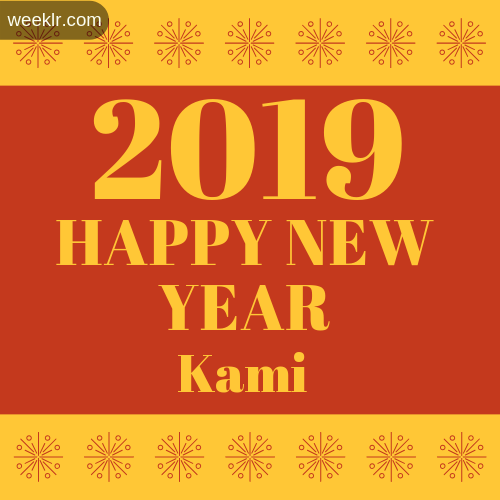-Kami- 2019 Happy New Year image photo