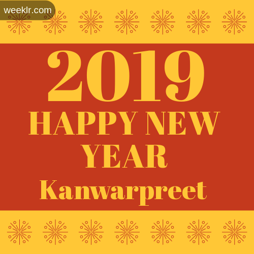 -Kanwarpreet- 2019 Happy New Year image photo