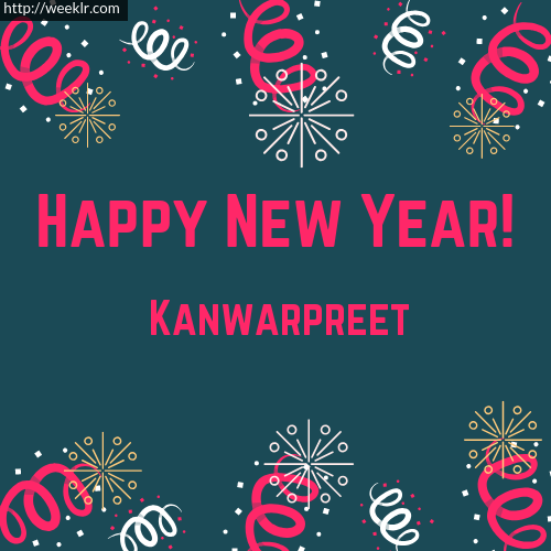 -Kanwarpreet- Happy New Year Greeting Card Images