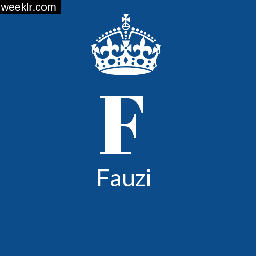 Make -Fauzi- Name DP Logo Photo