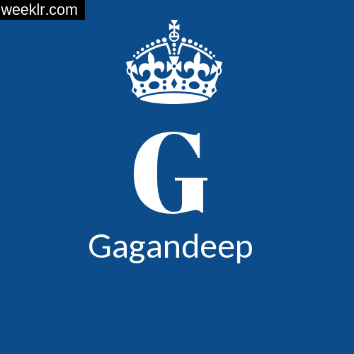 Make -Gagandeep- Name DP Logo Photo
