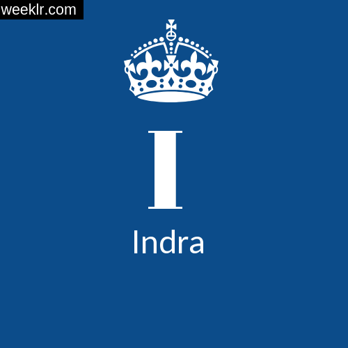Make -Indra- Name DP Logo Photo