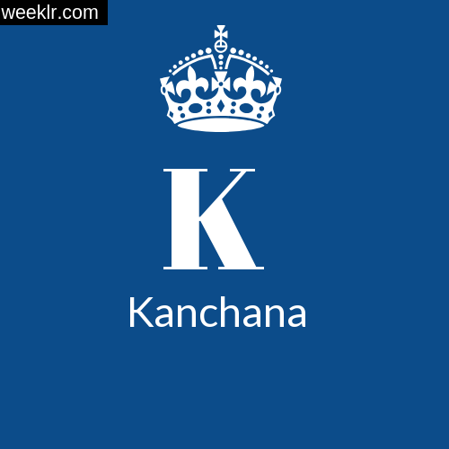 Make -Kanchana- Name DP Logo Photo