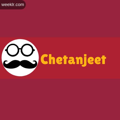 Moustache Men Boys Chetanjeet Name Logo images