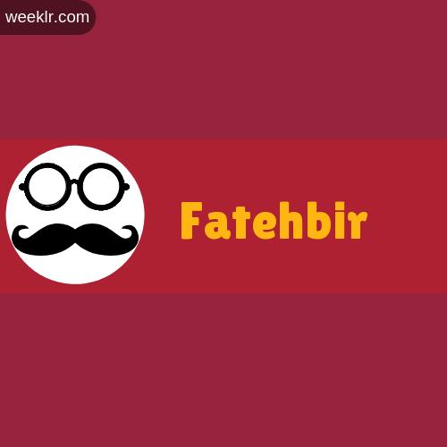 Moustache Men Boys Fatehbir Name Logo images
