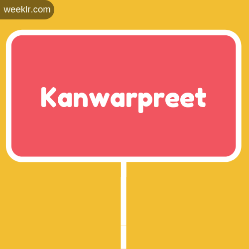Sign Board -Kanwarpreet- Logo Image