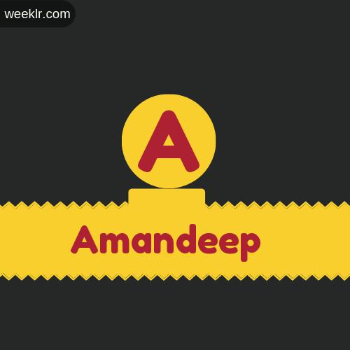 Stylish -Amandeep- Logo Images