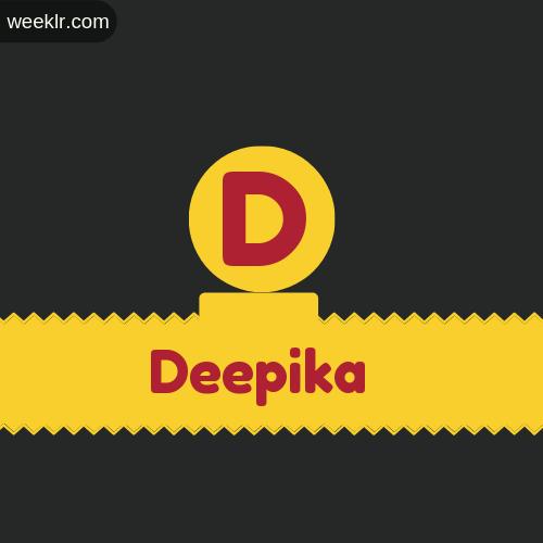 Stylish -Deepika- Logo Images