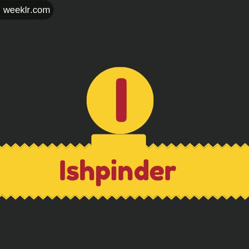 Stylish -Ishpinder- Logo Images