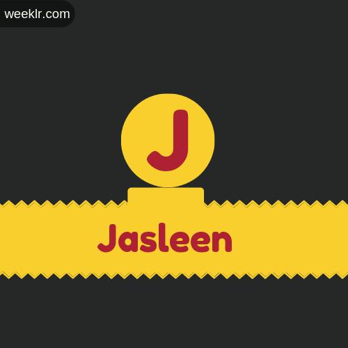 Stylish -Jasleen- Logo Images