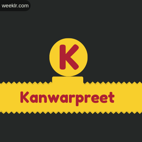 Stylish -Kanwarpreet- Logo Images