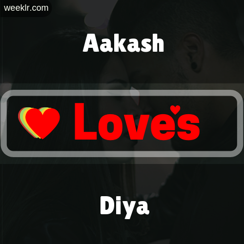 Aakash  Love's Diya Love Image Photo