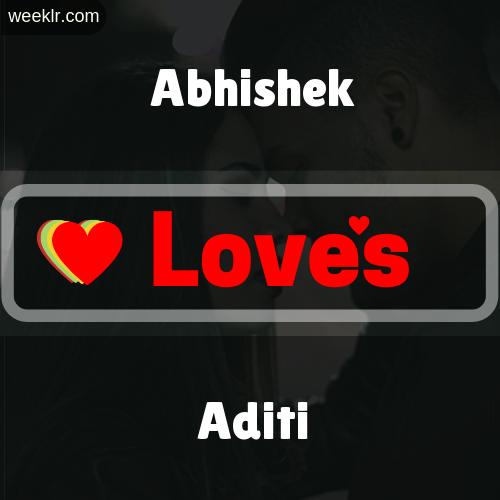Abhishek  Love's Aditi Love Image Photo