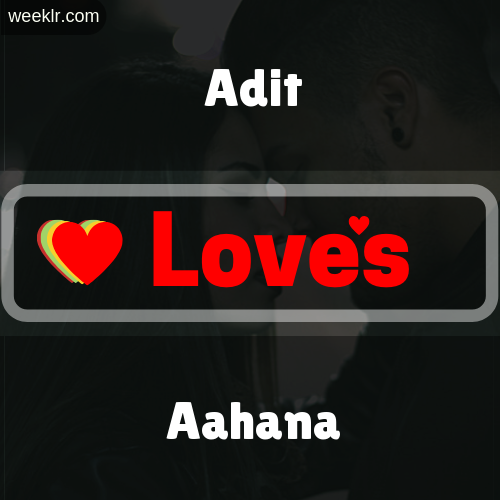 Adit  Love's Aahana Love Image Photo