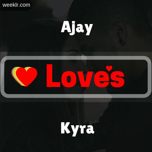 -Ajay- Love's-Kyra- Love Image Photo