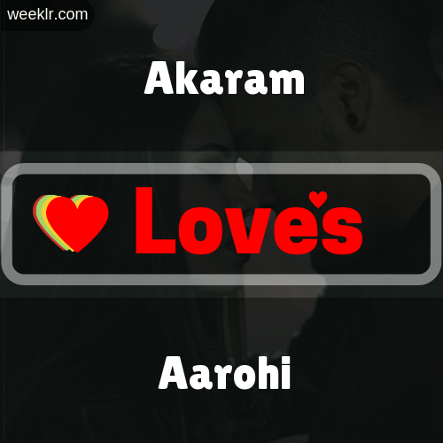 Akaram  Love's Aarohi Love Image Photo