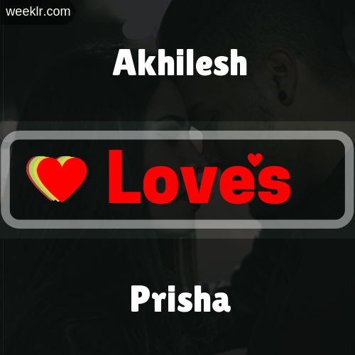 Akhilesh  Love's Prisha Love Image Photo