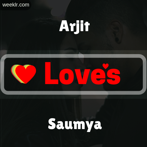 Arjit  Love's Saumya Love Image Photo