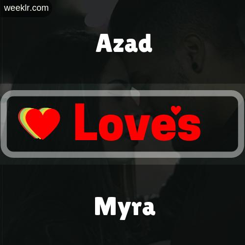 Azad  Love's Myra Love Image Photo