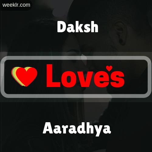 Daksh  Love's Aaradhya Love Image Photo
