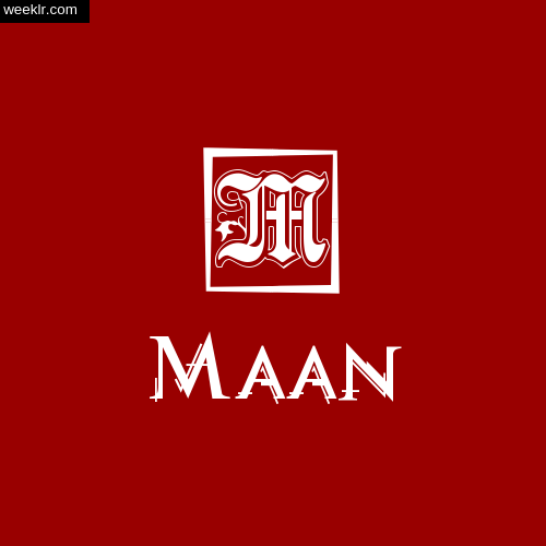 Maan Name Logo Photo Download Wallpaper