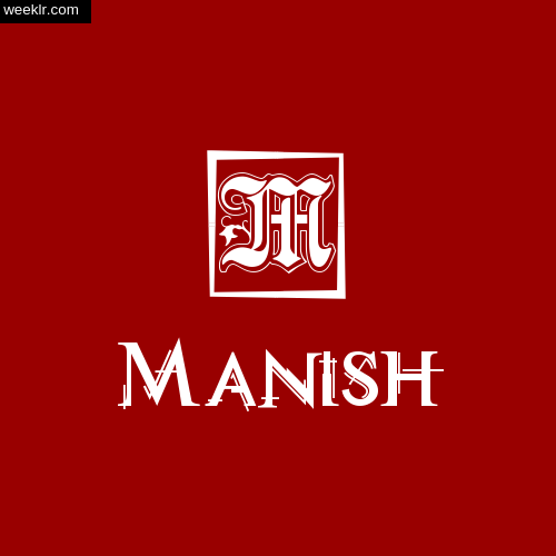 -Manish- Name Logo Photo Download Wallpaper