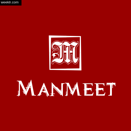 -Manmeet- Name Logo Photo Download Wallpaper