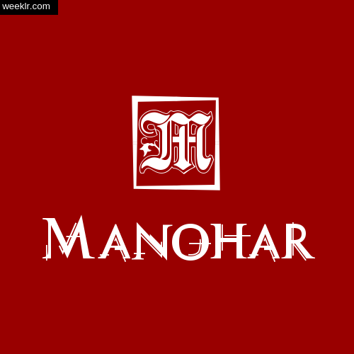-Manohar- Name Logo Photo Download Wallpaper