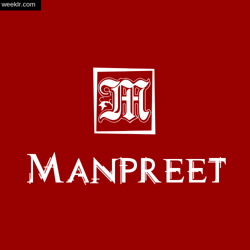 -Manpreet- Name Logo Photo Download Wallpaper