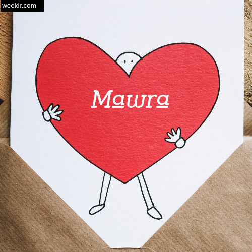 Mawra on Heart Image love letter