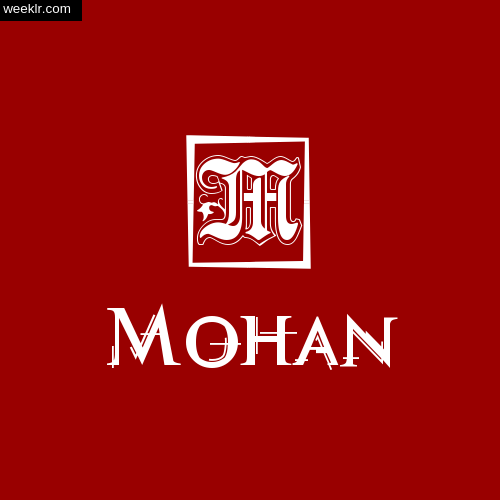 -Mohan- Name Logo Photo Download Wallpaper