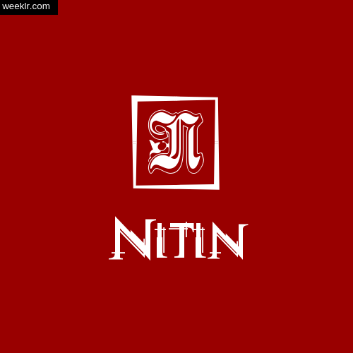 -Nitin- Name Logo Photo Download Wallpaper